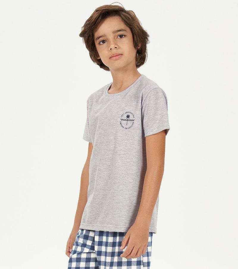 Pijama Manga Curta Infantil - 66400