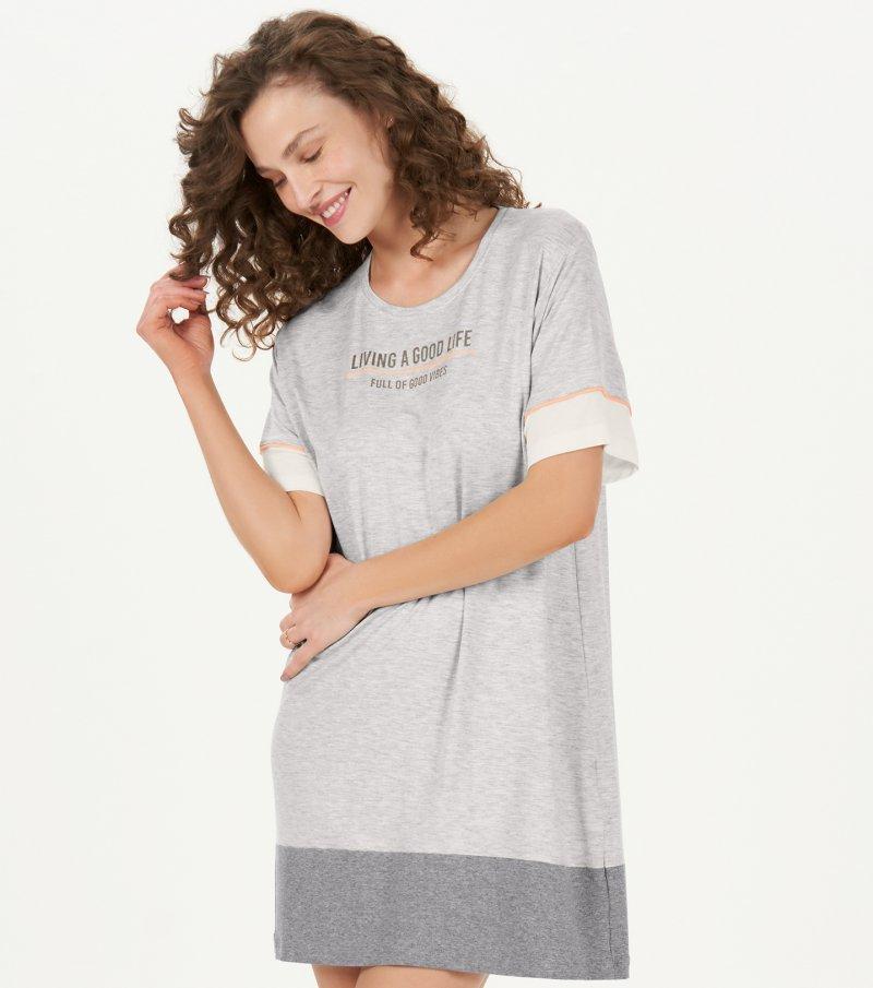 Dress Manga Curta - 12831