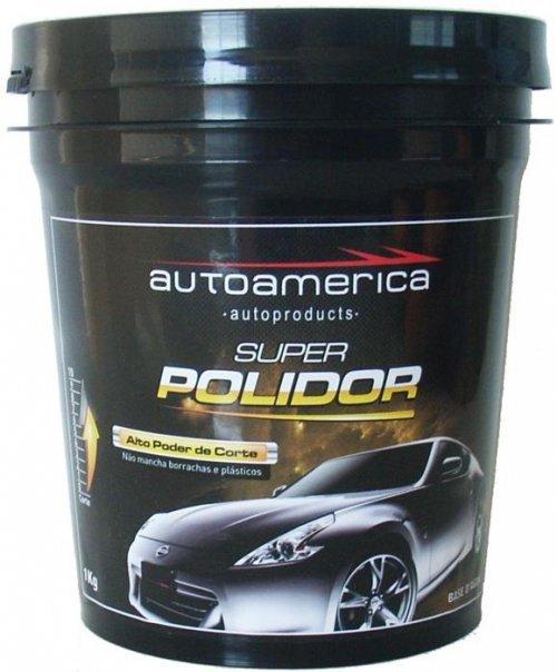 MASSA DE POLIR SUPER POLIDOR AUTO AMERICA 1Kg