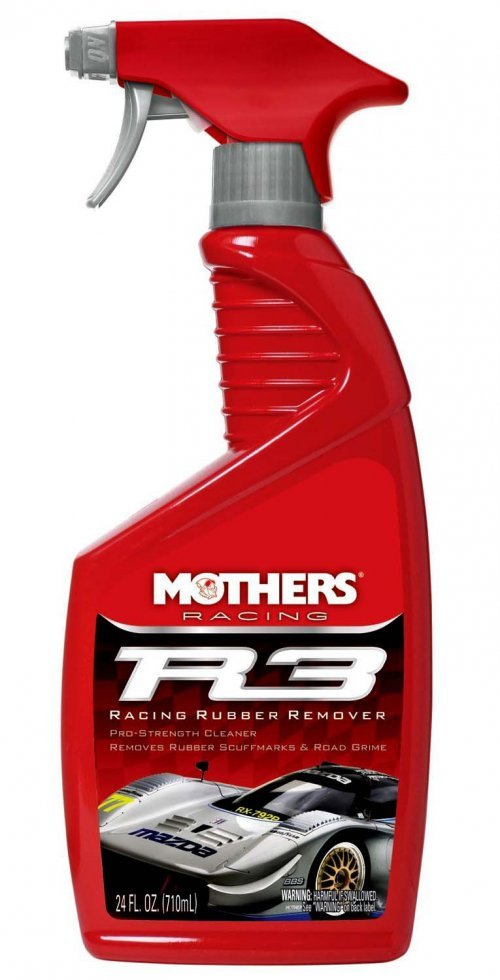 REMOVEDOR DE FULIGEM DE BORRACHA  R3 RACING 710ML  MOTHERS