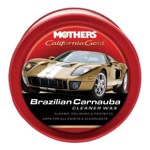 CERA BRAZILIAN CARNAUBA CLEANER WAX PASTA MOTHERS 340GR (5500)