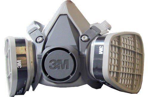 MASCARA SEMI FACIAL 6000  C/ FILTROS 3M