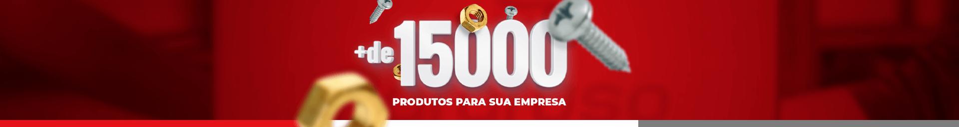 + de 1500 produtos