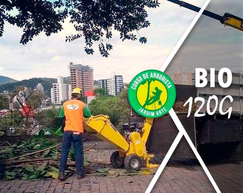 Bio 120 G e o cliente especialista em jardinagem, remoção de árvores e poda responsável de árvores.