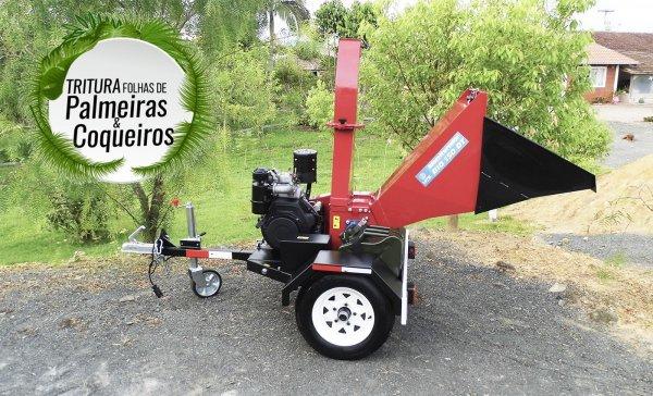 Triturador de Galhos BIO 150 DT