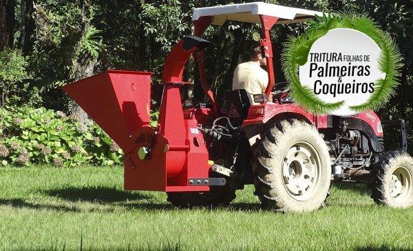 Triturador de Galhos PTU 150 T