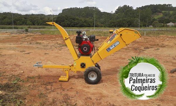 Triturador de galhos – BIO 120 D