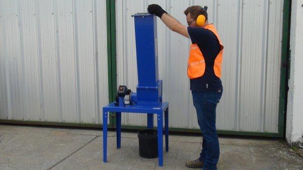 Triturador de vidro para reciclagem TVL 50