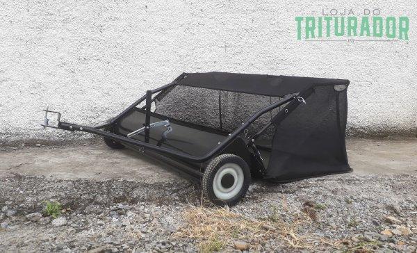 Recolhedor de Folhas e Grama Lippel VRL 48 p/ Cortador Trotter dirigível