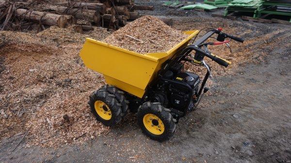 Carrinho De Mão Motorizado Mini Dumper Cmb 300