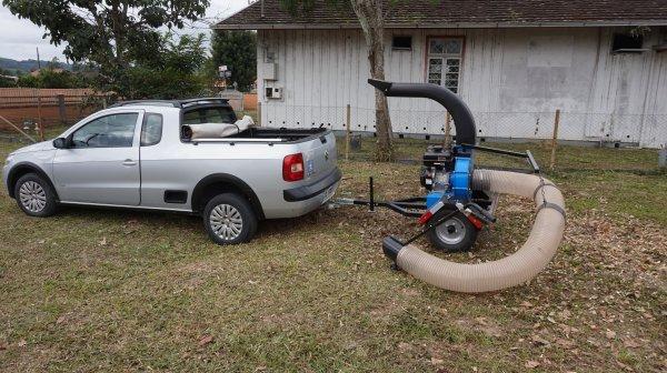 Aspirador Triturador de Folhas a gasolina ATF 22 CT