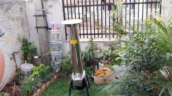 Triturador de Resíduos Orgânicos inox