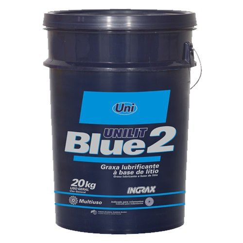 Graxa 20kg Azul Para Rolamentos Mancais Unilit Blue-2 Ingrax 16322