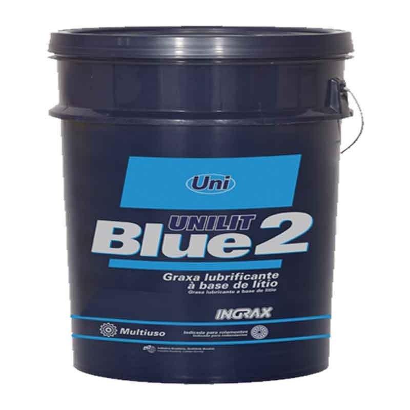Graxa 10kg Azul Para Rolamentos Mancais Unilit Blue-2 Ingrax 16324