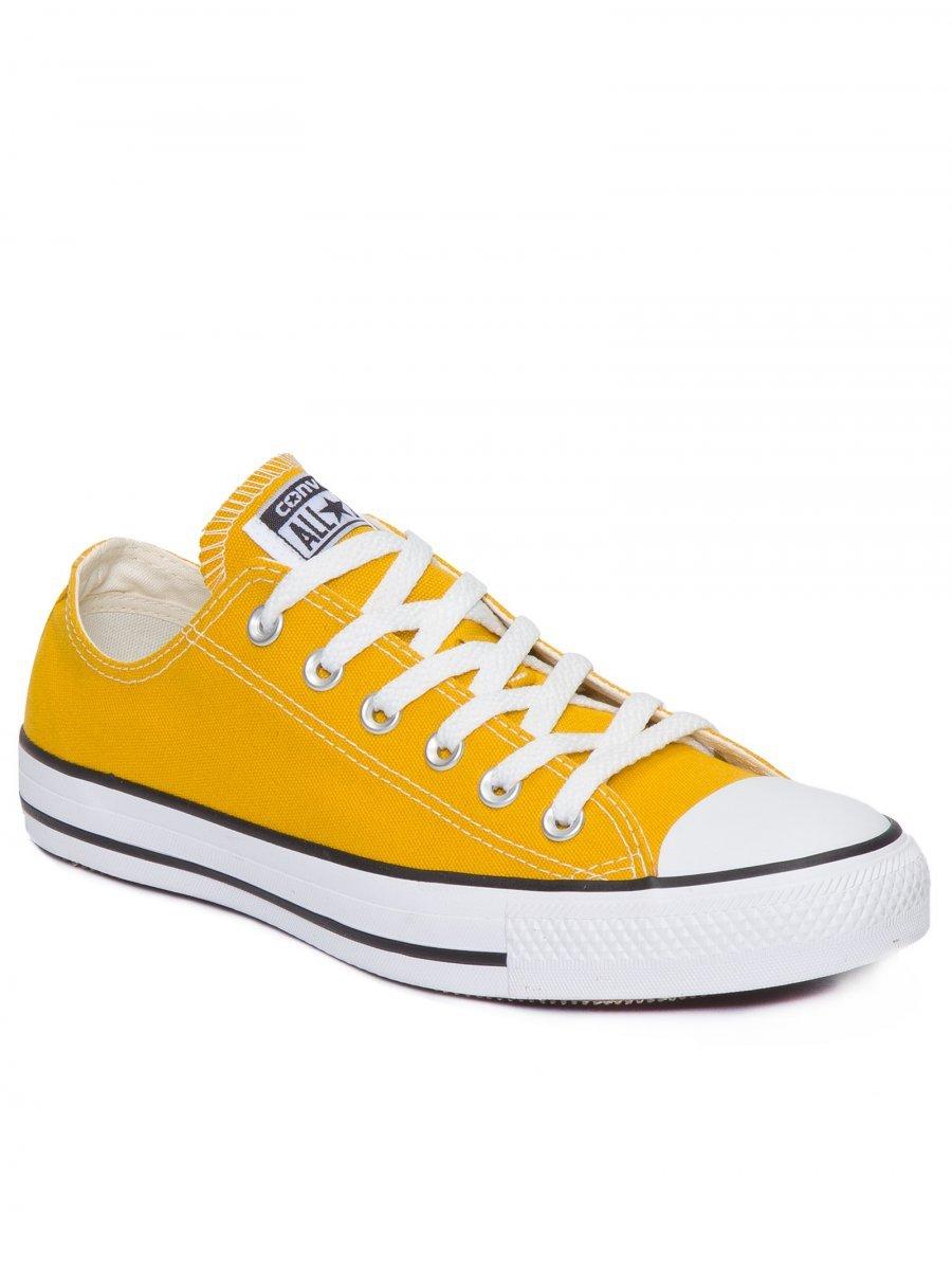 7ee77db837a Tênis Unissex CT04200014 All Star Converse - Amarelo  Preto Branco ...