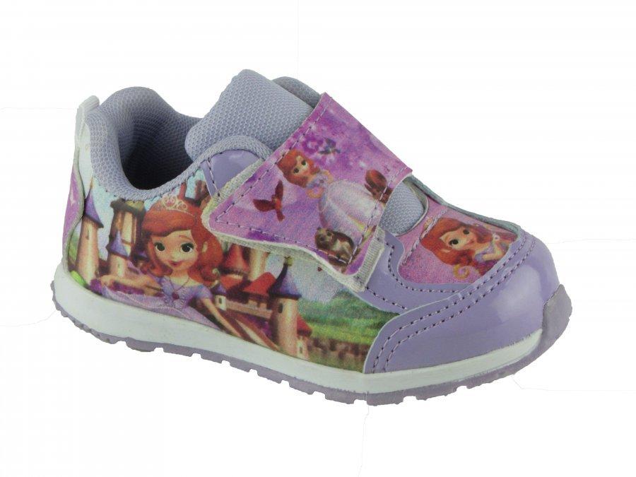 1a54c311501 Tênis Infantil Menina 207 Princesa Sofia Pees Kids - Lilás