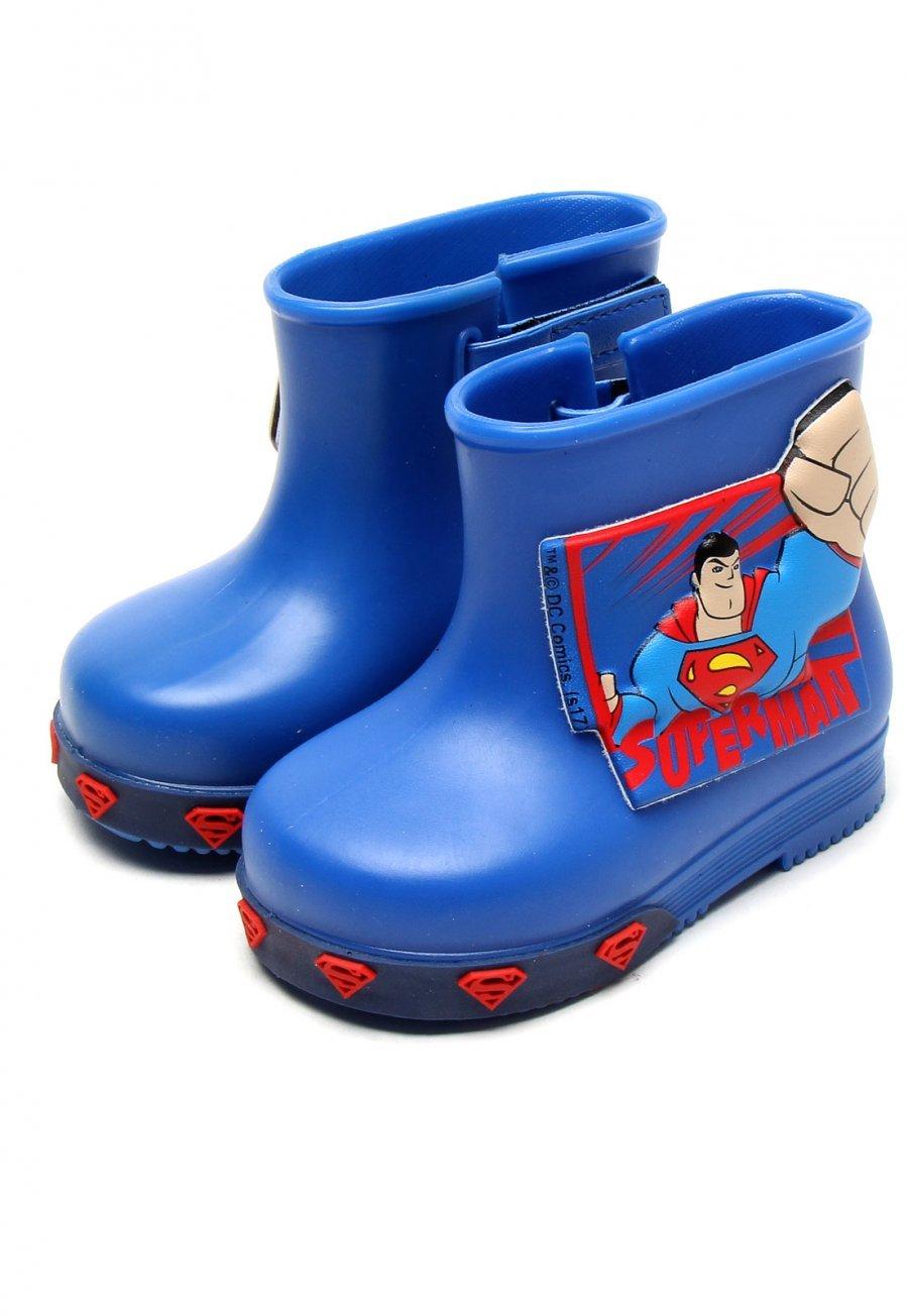 73710c75016 Galocha Infantil Menino 21562 Grendene Kids Super Homem - Azul ...