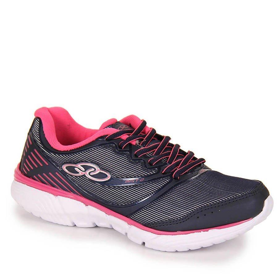 Tênis Feminino Mist 2   344 Olympikus - Marinho Pink  d2104933c5061