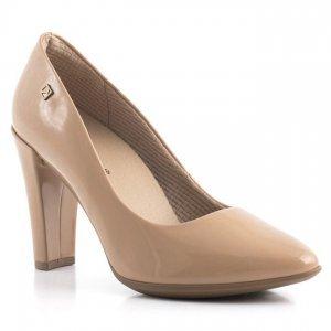 1872287e07 Sapato Scarpin Feminino 695001 Piccadilly - Verniz Nude