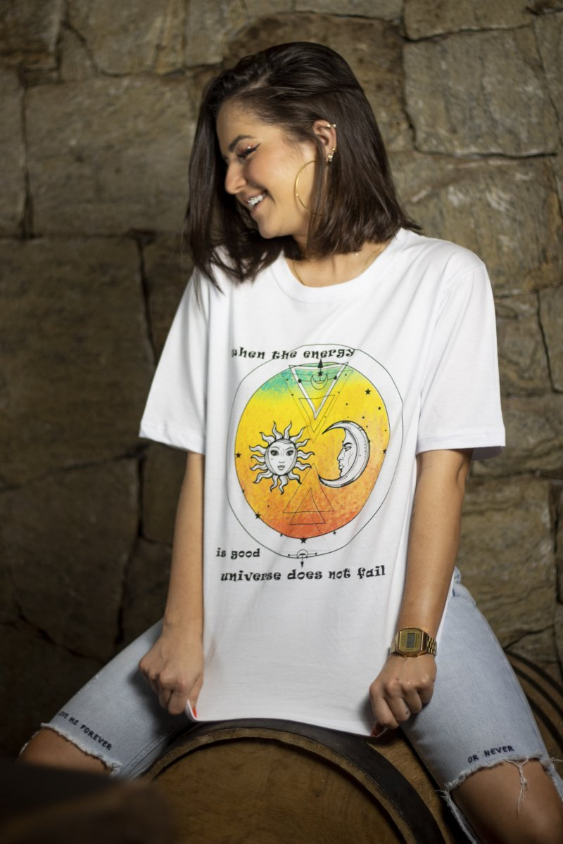 T-SHIRT WHEN THE ENERGY IS GOOD