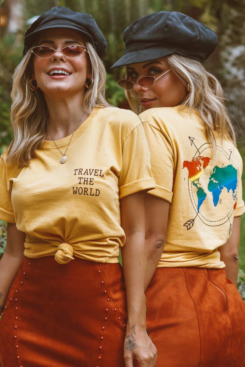 T-SHIRT TRAVEL THE WORLD