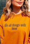 MOLETOM DO ALL THINGS WITH LOVE TERRA
