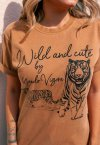 T-SHIRT WILD AND CUTE