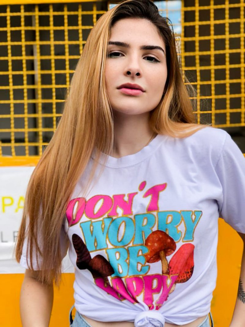T-SHIRT DONT WORRY BE HAPPY