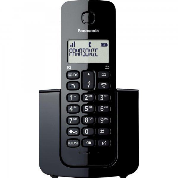 Telefone sem Fio PANASONIC com ID KX-TGB110LBB - Preto