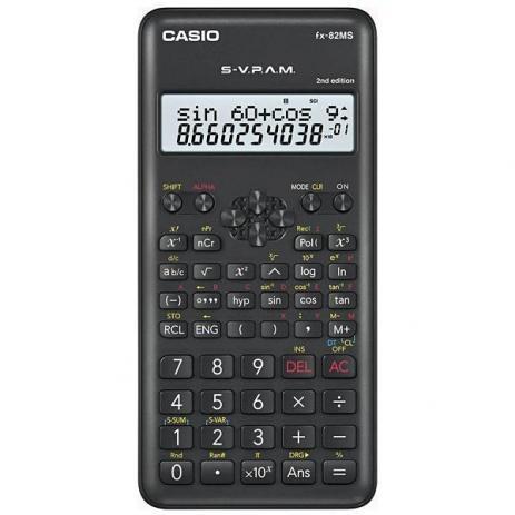 Calculadora Científica com 240 Funções CASIO FX-82MS 2.Edição
