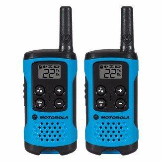 Walkie Talkie Rádio Motorola T100MC 25KM 22 Canais