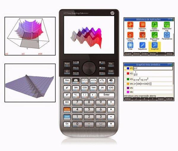 Calculadora HP Prime Gráfica Touch G2 Tela Colorida 2AP18AA