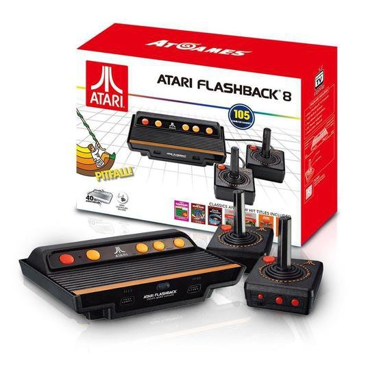 Console Atari Flashback 8 com 105 Jogos