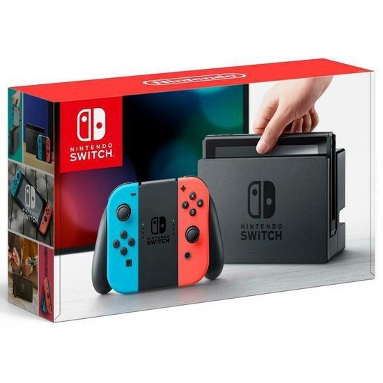 Console Nintendo Switch 32GB com Bateria Estendida (HAC-001(01)
