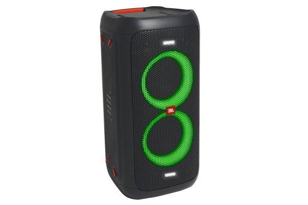 Caixa Amplificada JBL PARTY BOX 100 (160W RMS) Bluetooth, Conexão USB, Autonomia de Até 12 Horas.