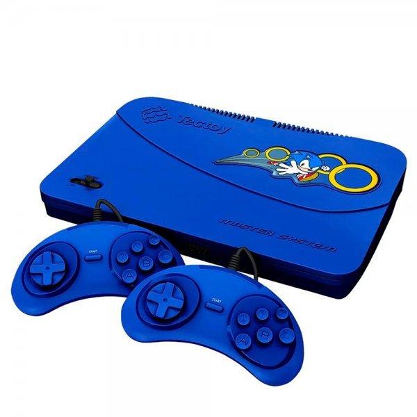 Vídeo Game Tectoy Master System com 132 jogos na memória + 2 Controles