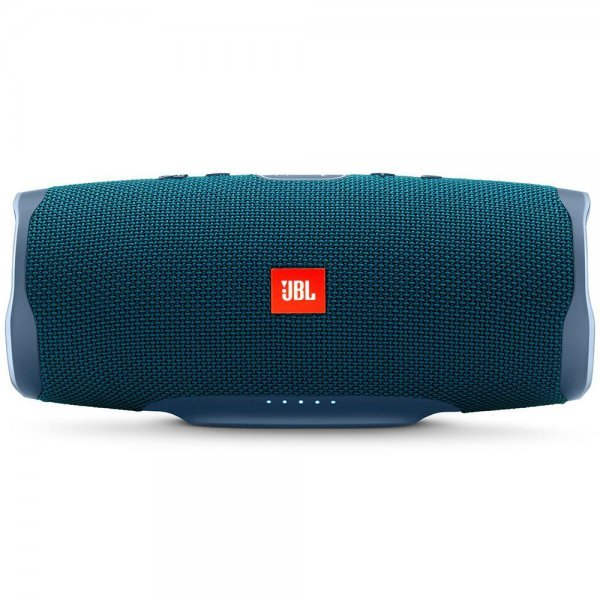 Caixa de Som Portátil JBL Charge 4, Bluetooth, 30W, À Prova D´Água. Azul