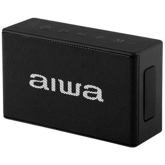 Caixa de Som Aiwa Aw X2BTK 5 Watts RMS com Bluetooth - Preto