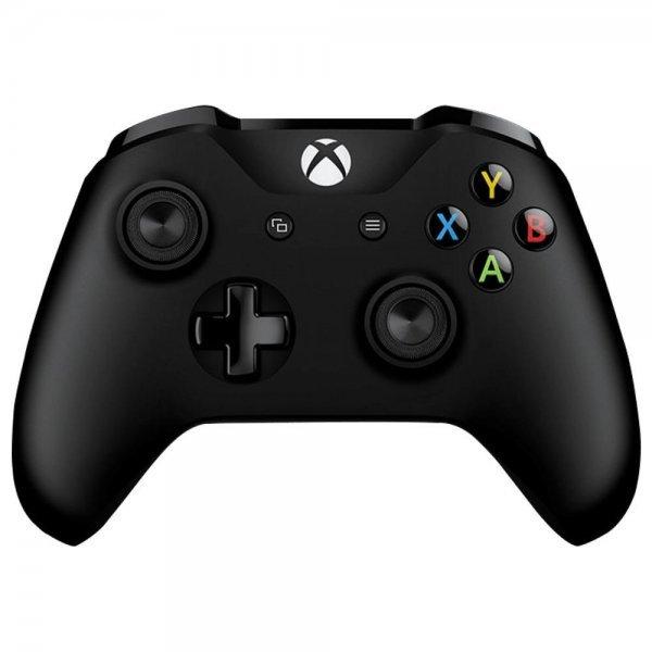 Controle Microsoft Wireless Branco Xbox One - Preto