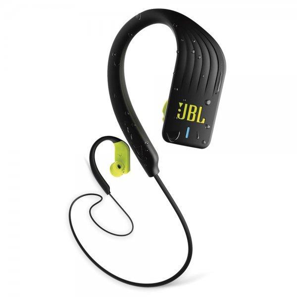 Fone De Ouvido Bluetooth JBL Endurance Sprint Preto e Verde