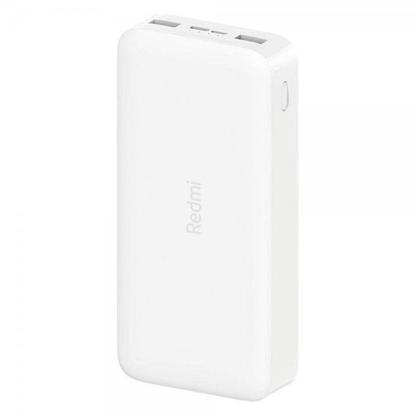 Carregador Portátil USB Xiaomi VXN4285GL 20.000 MAh - Branco