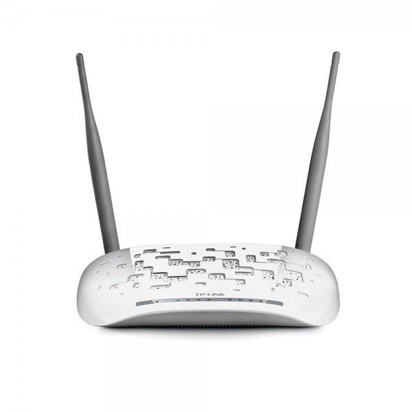 Modem Wireless N ADSL2+ de 300Mbps Branco - TD-W8961N