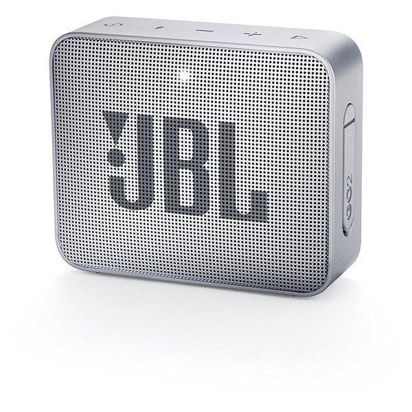 Caixa de Som JBL Go 2, Bluetooth, À Prova D´Água, 3W, GREY - JBLGO2GREY