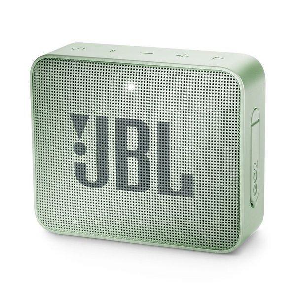 Caixa de Som JBL Go 2, Bluetooth, À Prova D´Água, 3W, MENTA - JBLGO2MINT
