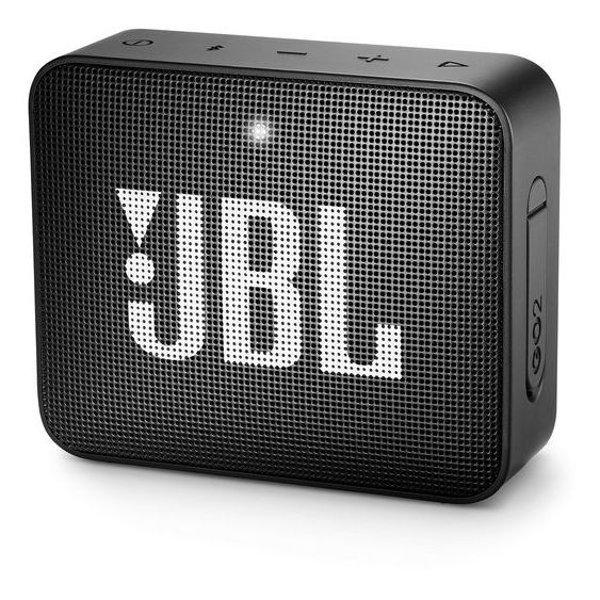 Caixa de Som JBL Go 2, Bluetooth, À Prova D´Água, 3W, PRETA - JBLGO2BLK