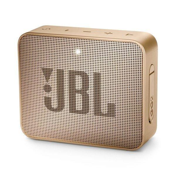 Caixa de Som JBL Go 2, Bluetooth, À Prova D´Água, 3W, CHAMPAGNE - JBLGO2CHAMPAGNE