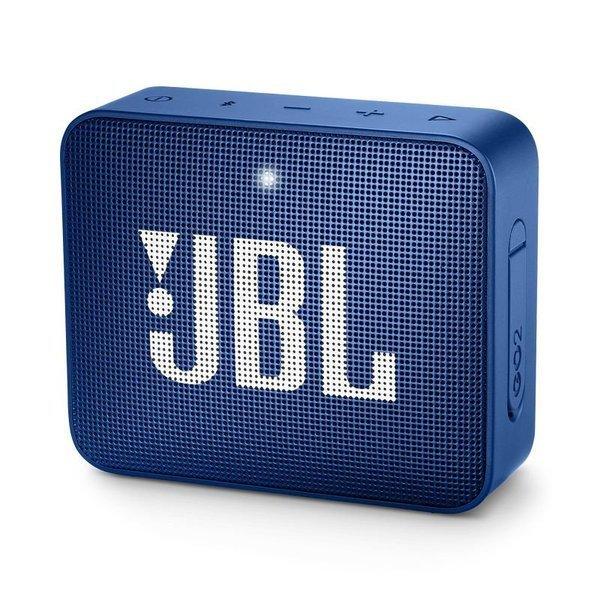 Caixa de Som JBL Go 2, Bluetooth, À Prova D´Água, 3W, AZUL - JBLGO2BLUAM