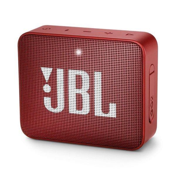 Caixa de Som JBL Go 2, Bluetooth, À Prova D´Água, 3W, VERMELHA - JBLGO2RED