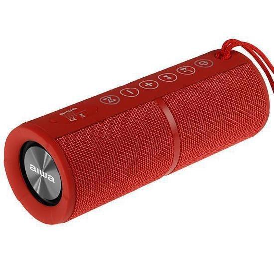 Caixa de Som Aiwa AW-Q400 SD / Bluetooth - Vermelha