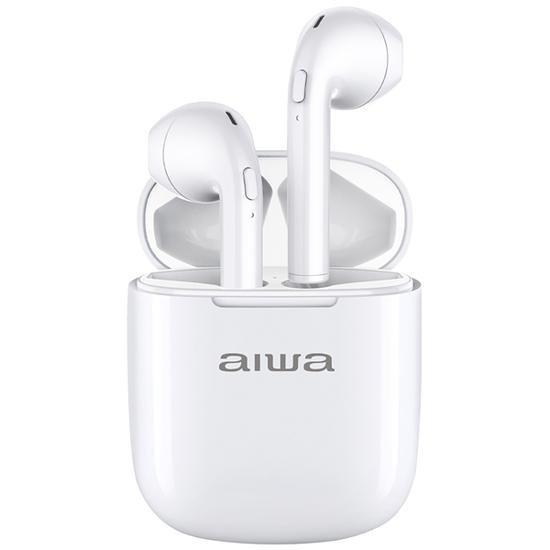 Fone de Ouvido Sem Fio Aiwa AWTWSD1 com Bluetooth - Branco
